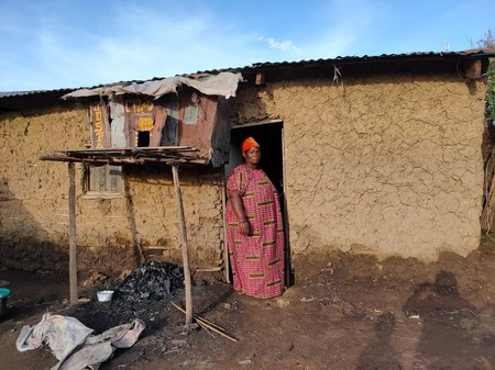 Martianna-Survivor of flooding in Gatumba